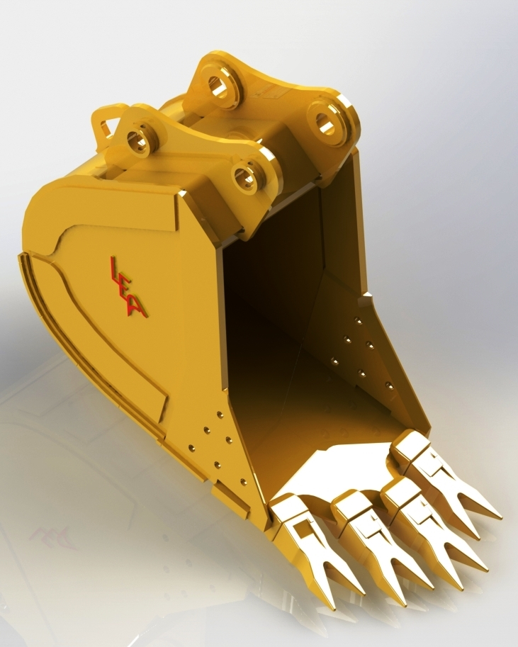 High Penetration STAG Bucket from Leading Edge Attachments, Inc ...